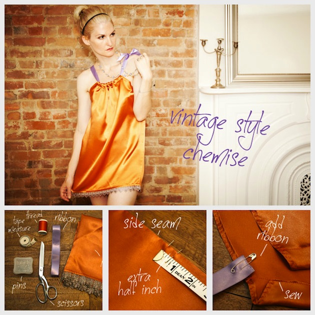 How-To: Vintage-Style Pillowcase Chemise