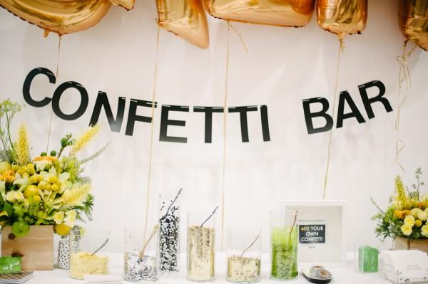 Brooklyn Bride's Confetti Bar