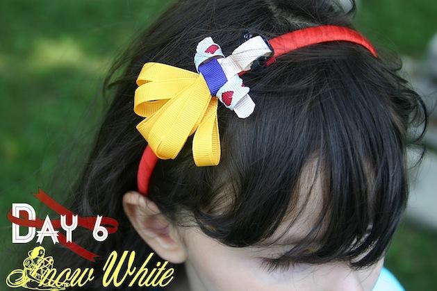 How-To: Snow White Ribbon Headband