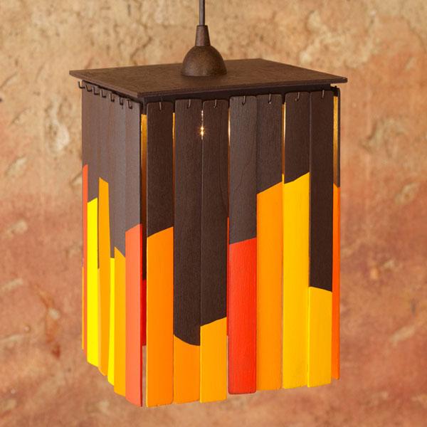 How-To: Pine Lattice Pendant Light