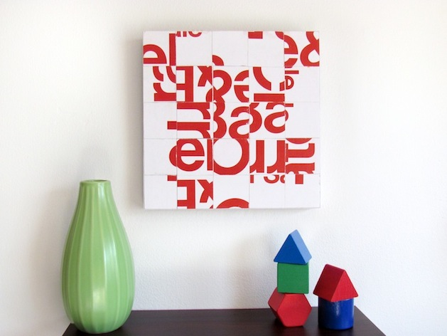 How-To: Junk Mail Typography Collage