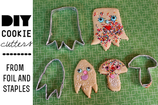 How-To: Make Your Own Cookie Cutters