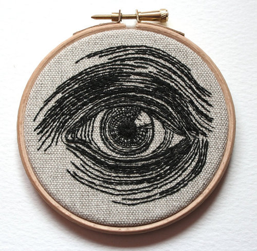 Hand Embroidered Illustrations