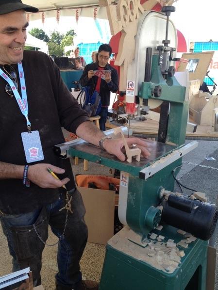 DiResta in the Make: Workshop