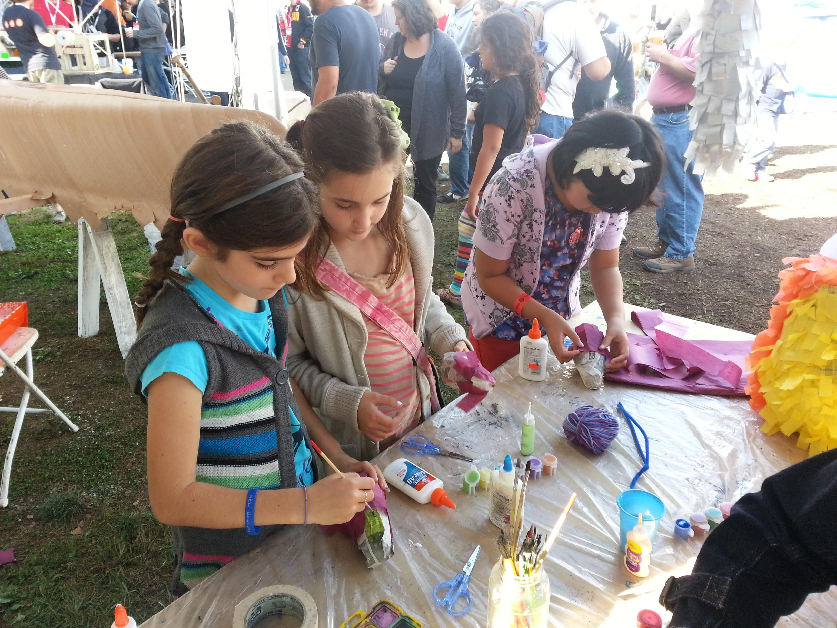 Maker Faire New York: WHACK!!! Piñata Workshops