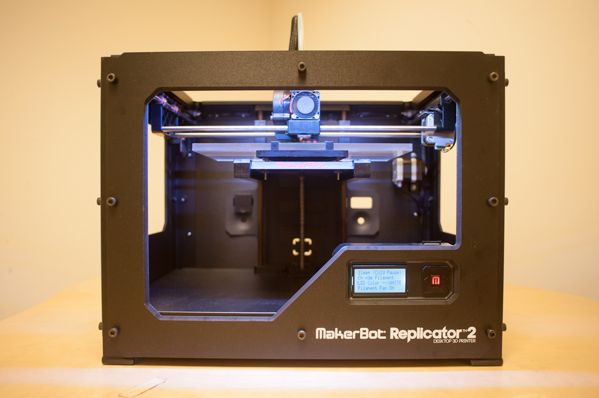 A Video Tour of the MakerBot Replicator 2