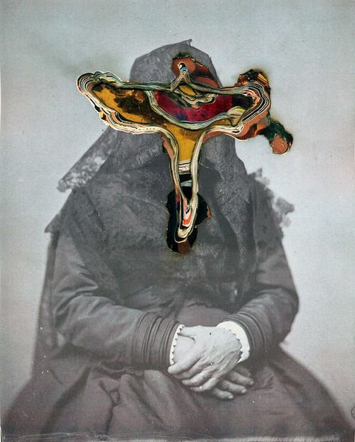 Hand-made Collages From Civil War Photographs