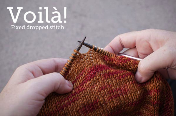 How-To: Fix Dropped Stitches in Knitting