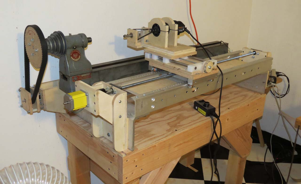Building an Arduino Controlled Lathe