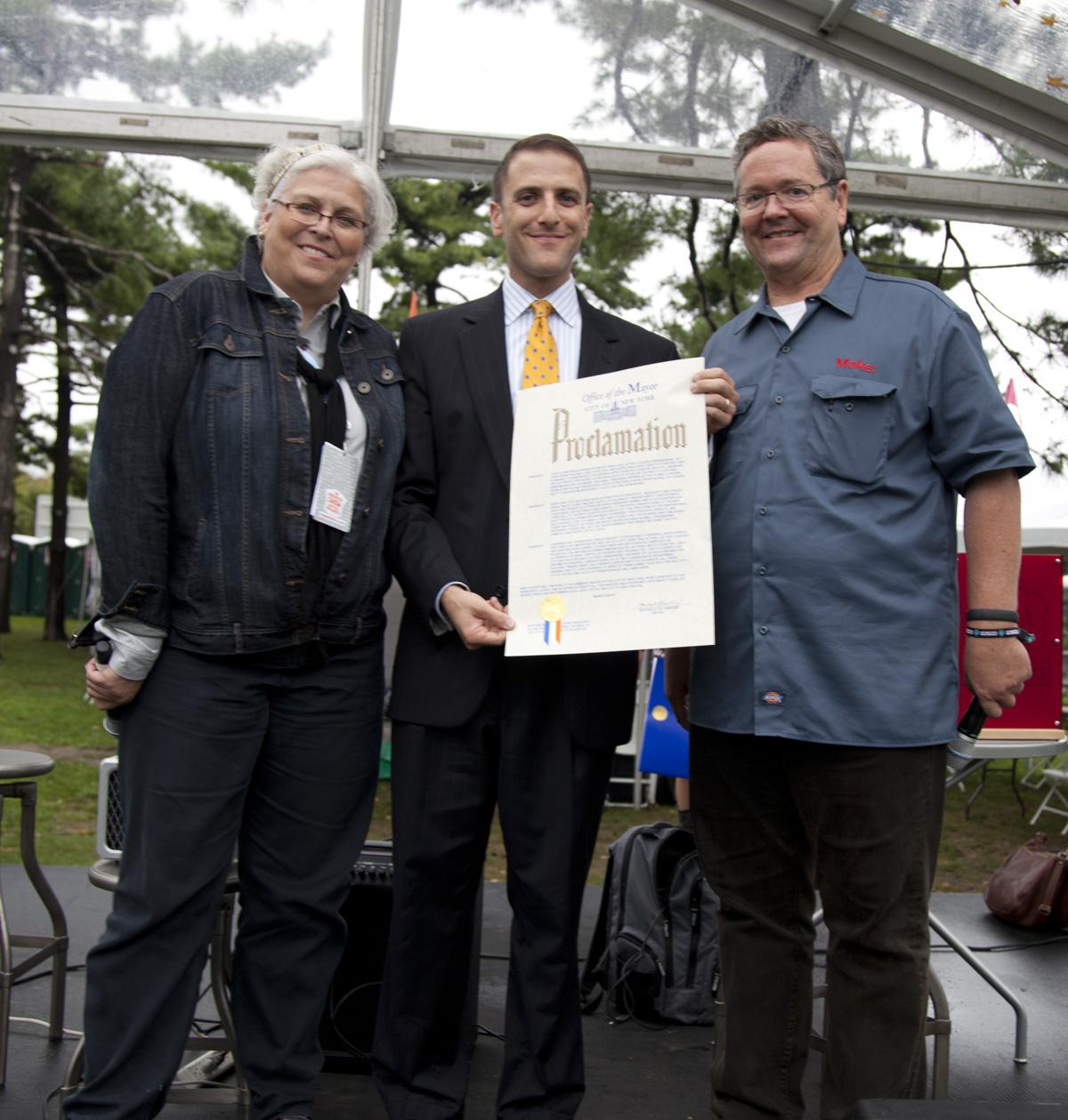 "Hear Ye, Hear Ye: Mayor Bloomberg's ""Maker Week"" Proclamation"