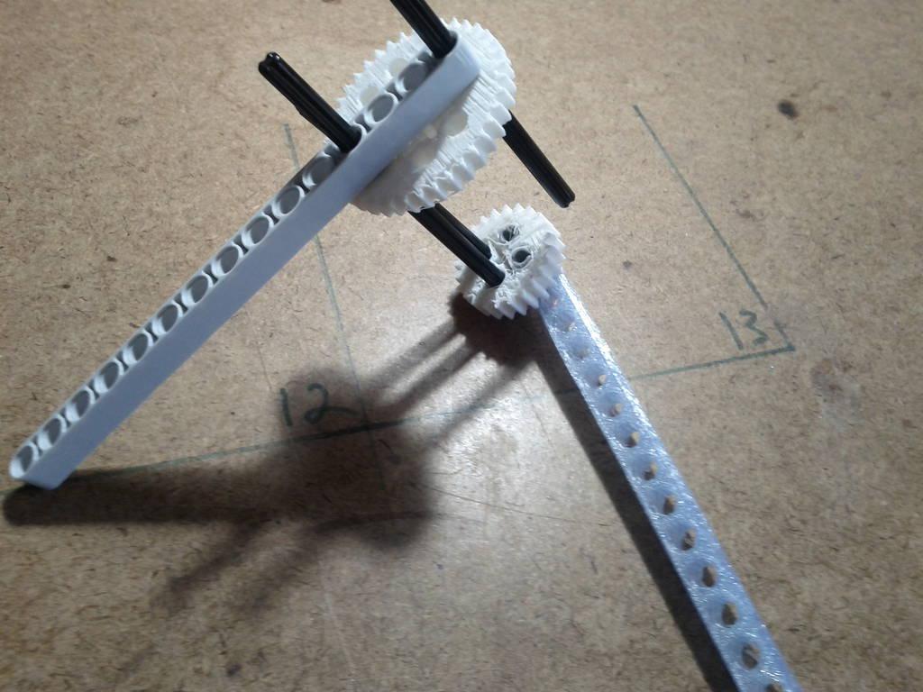 Printing Custom Lego-Compatible Beams