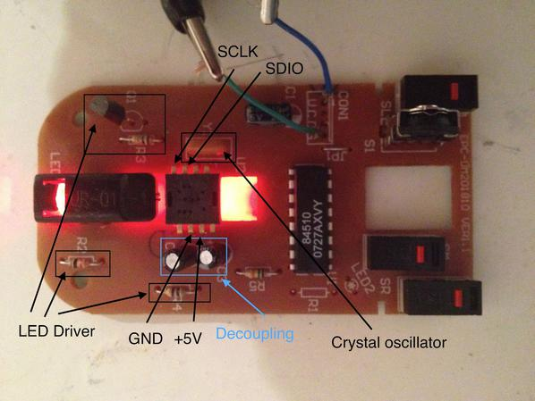 Turning A Cheap Optical Mouse Into A Robot Odometer