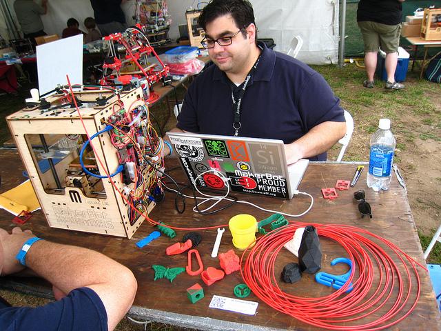 Maker Faire New York 3D Printer Village: Interview with John Abella