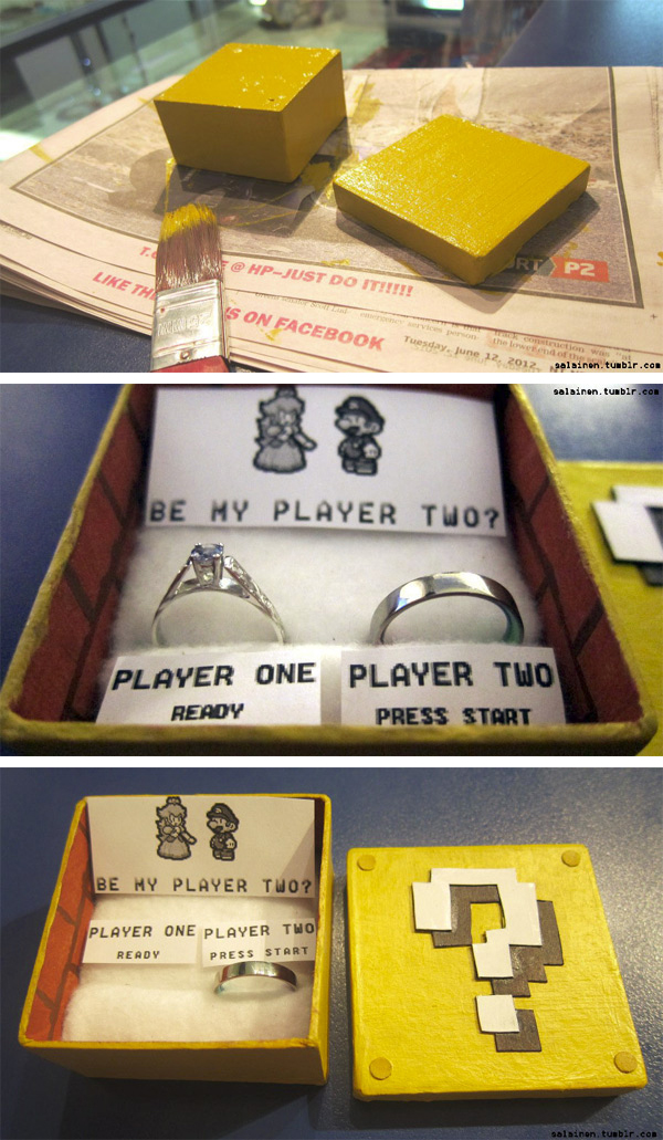 Mario Marriage Proposal