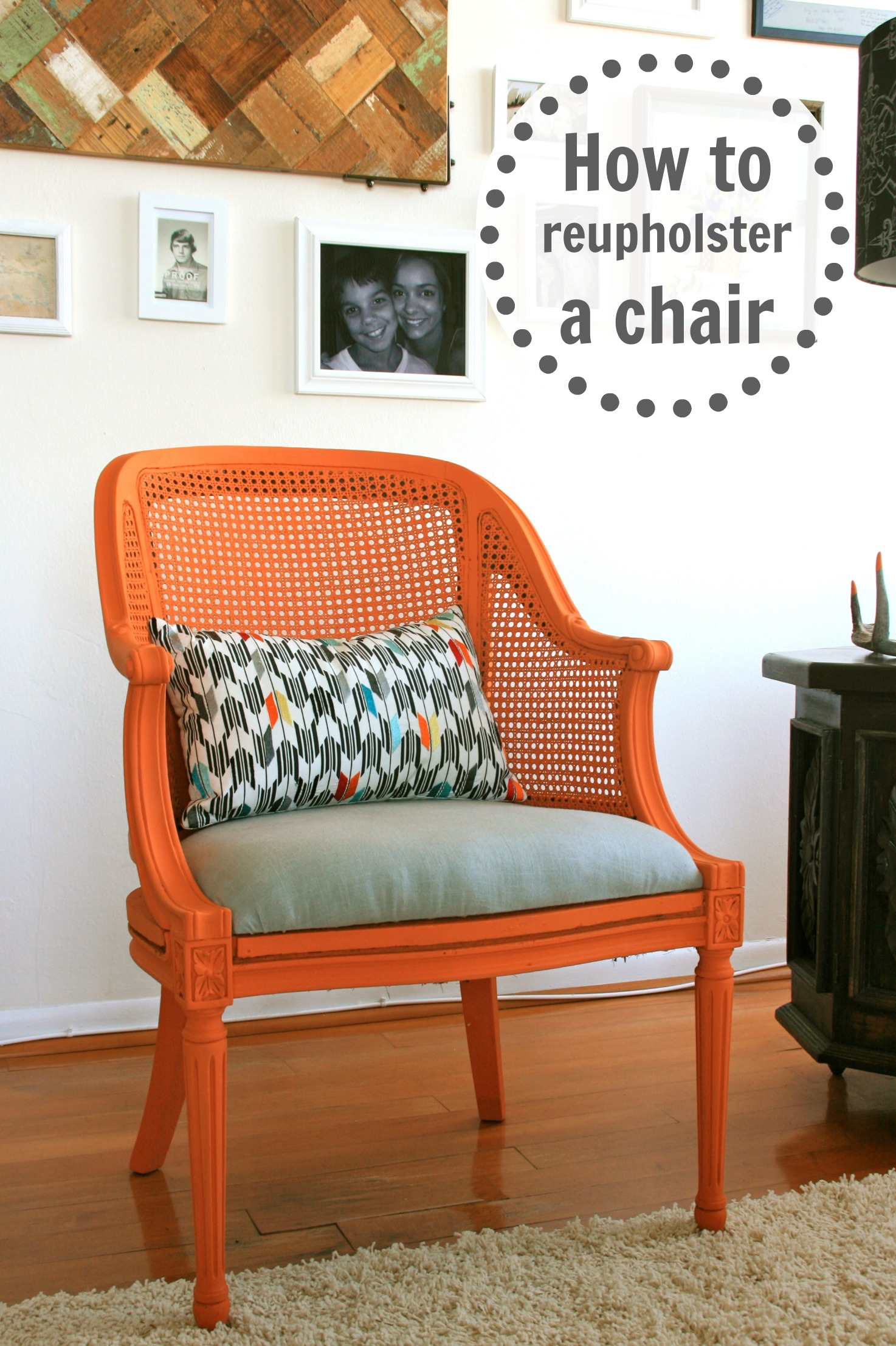 How-To: Reupholster a Chair