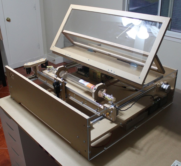 DIY Laser Cutter Kit on Kickstarter