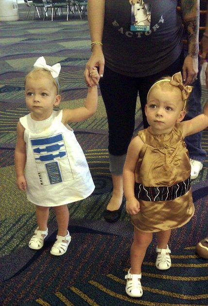 Awesome Toddler Droid Dresses For Star Wars Celebration