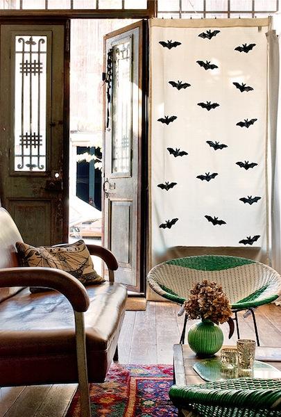 How-To: DIY Bat Curtains