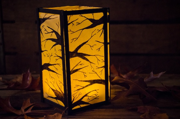 How-To: In the Woods Paper Lantern
