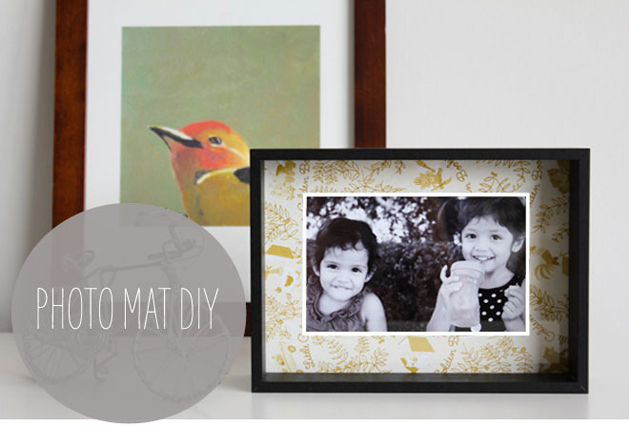 How-To: Book Cover Photo Mat