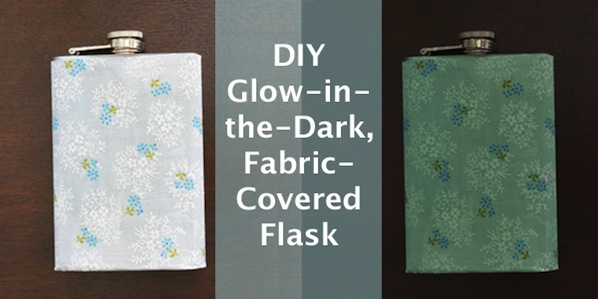 How-To: Glow-in-the-Dark Travel Flask