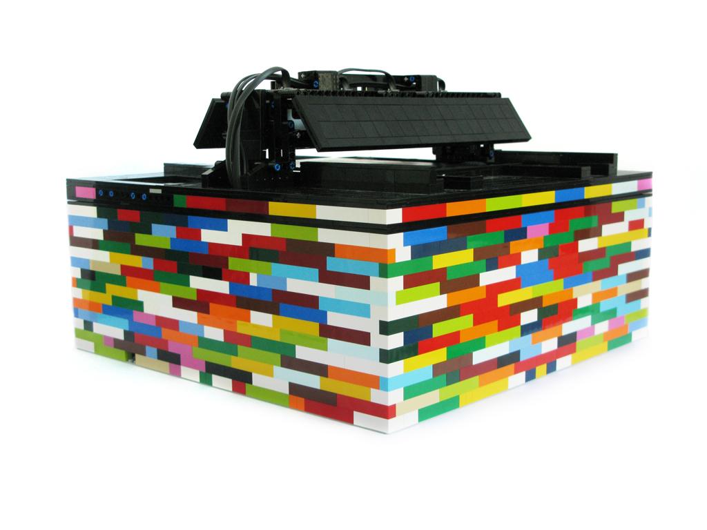 Mark Crosbie's Lego Drum Sequencer
