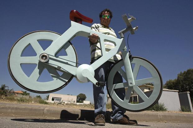 A Cardboard Bike?