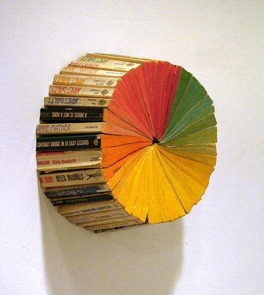 Paperback Book Color Wheel