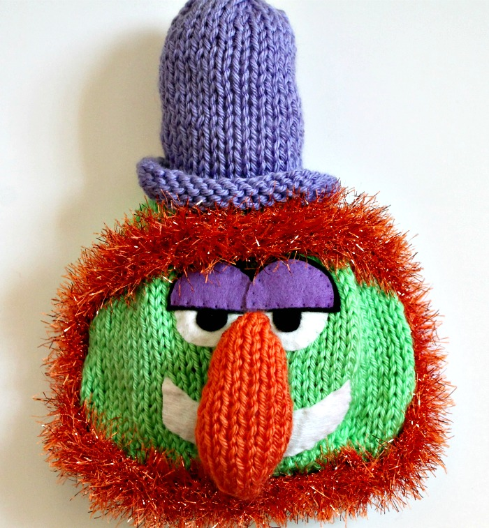 Knitted  Muppet Hats