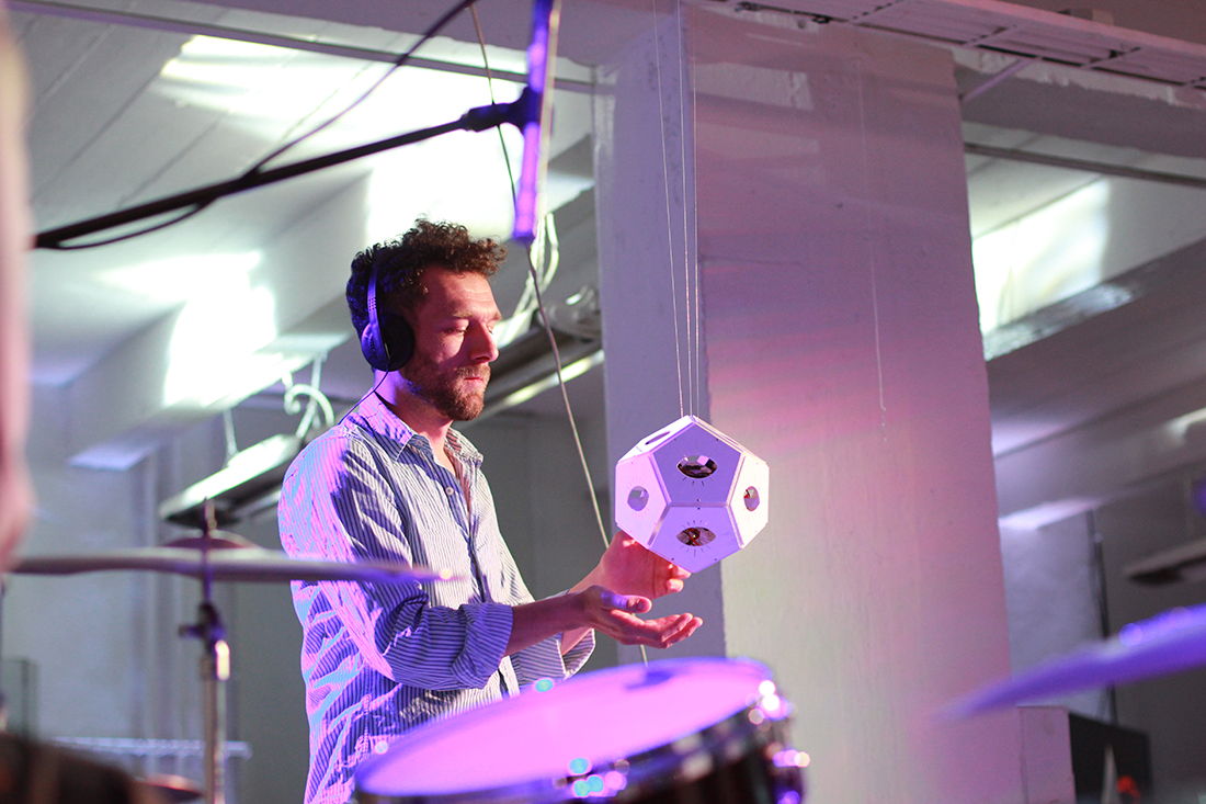 Dodecaudion, a Gesture-Based Spatial Music Generator