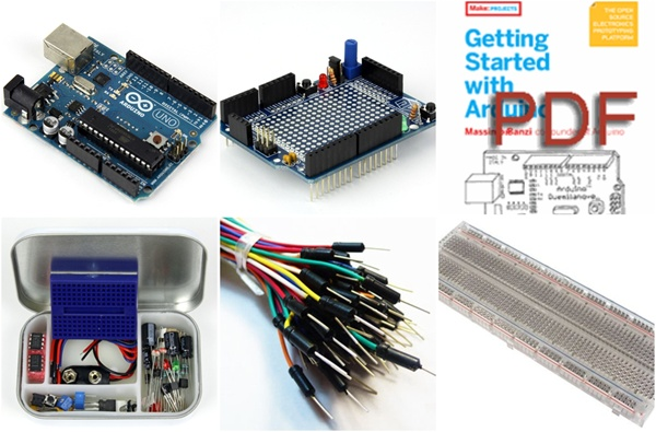 In the Maker Shed: Microcontroller Quick Launch Pack