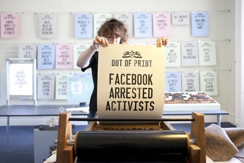 Letterpress Printed Digital Media