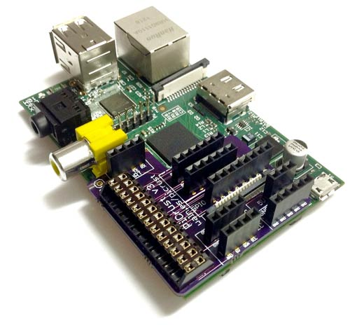 Pi Crust Breakout Board for Raspberry Pi