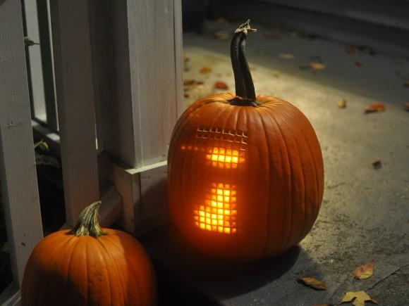 Pumpktris, Tetris-in-a-Pumpkin