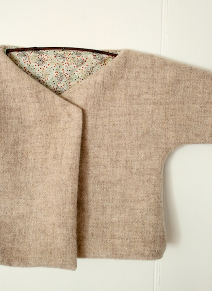 How-To: Felted Wool Baby Jacket