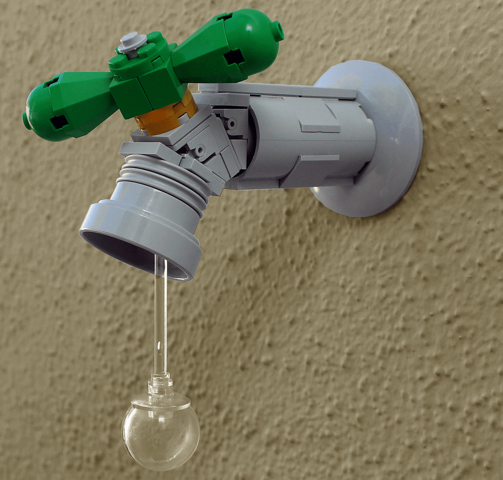 Leaky Lego Faucet
