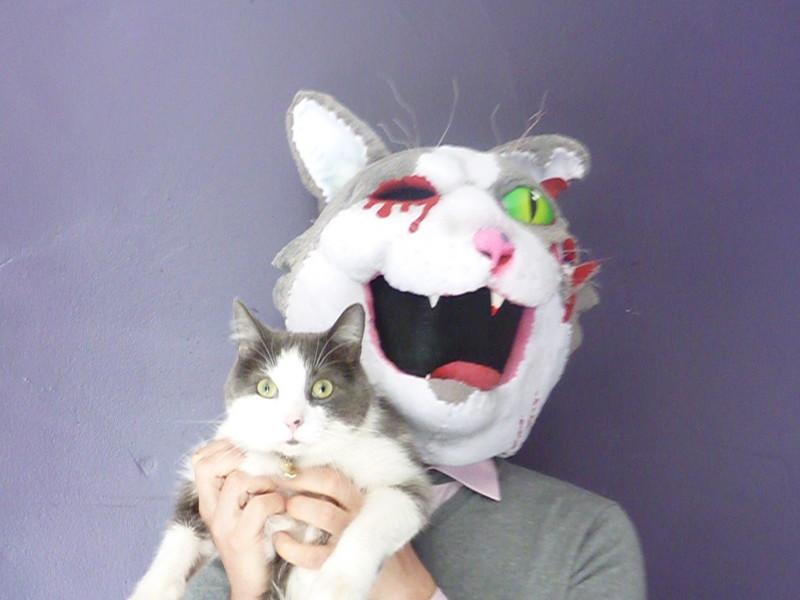 Zombie Cat Mask