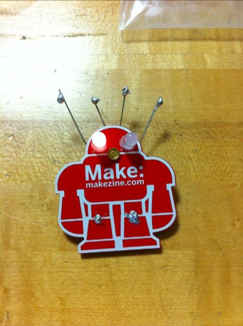 Customized MAKE robot