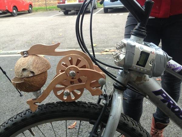 Trotify your Bike, Monty Python Style
