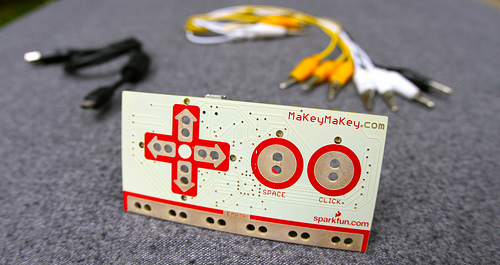 MaKey MaKey in the Maker Shed!