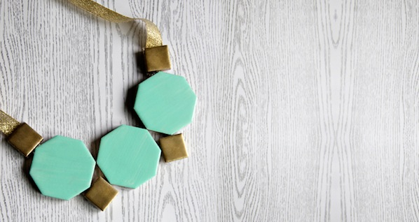 How-To: Geometric Tile Necklace