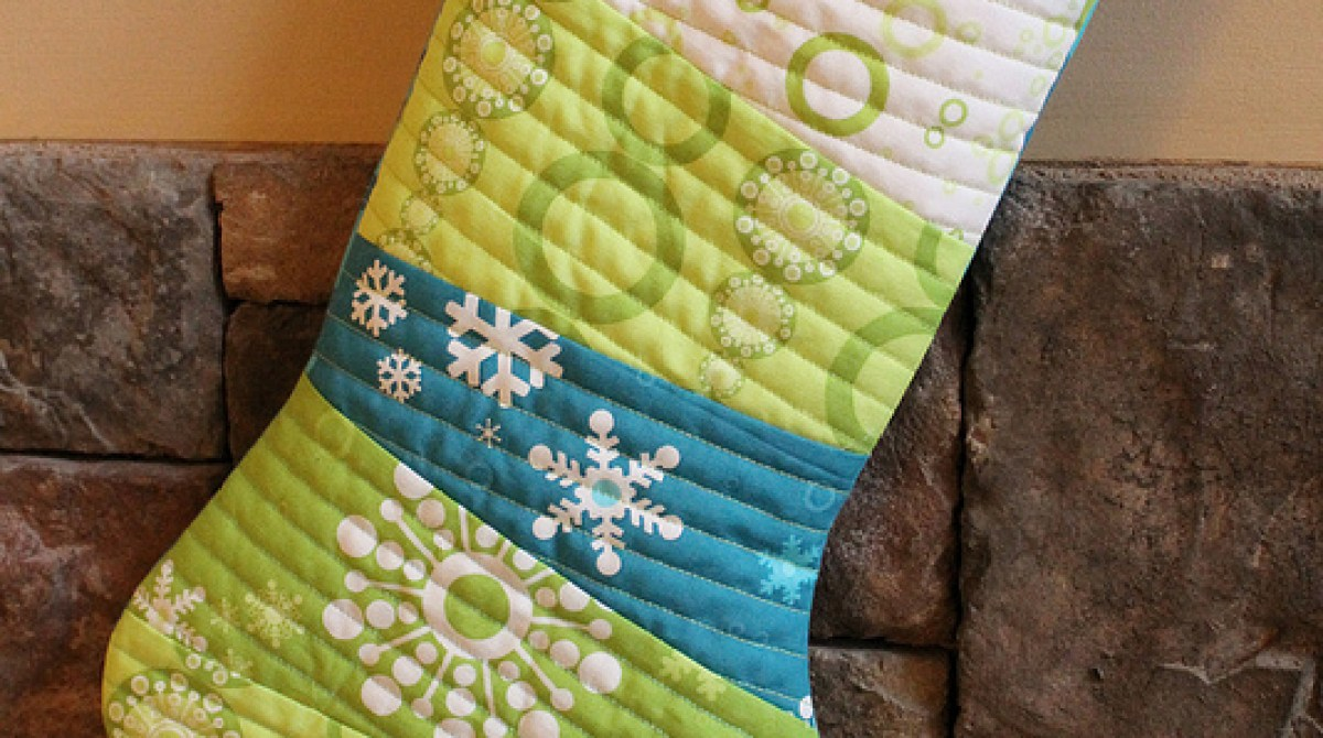 How-To: Quilted Stocking