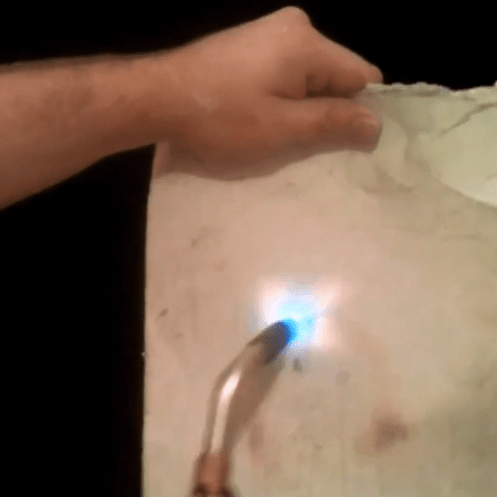 How-To: Fireproof Paper