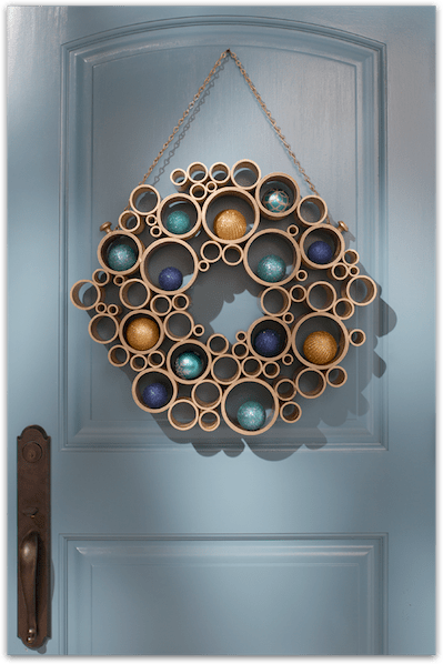 How-To: PVC Pipe Wreath