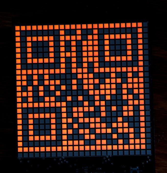 QR-Code Clock