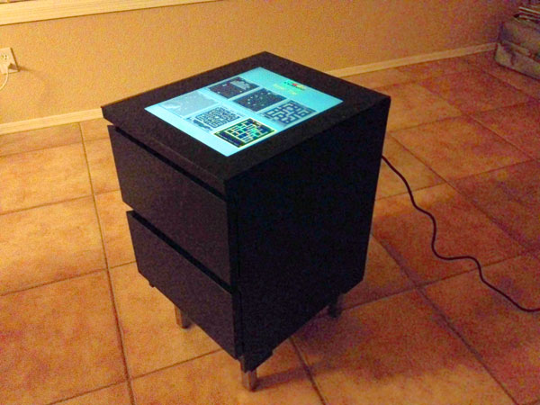 Cocktail-Style IKEA Arcade Cabinet
