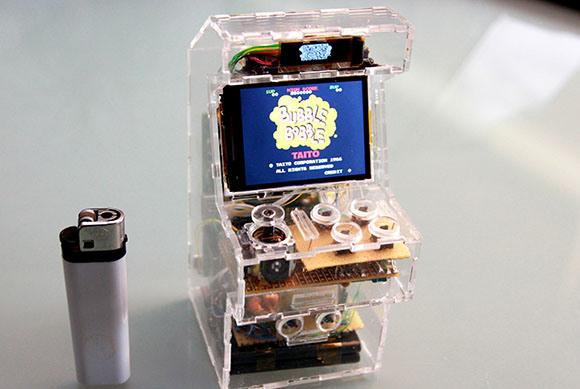 Mini RPi MAME Cabinet