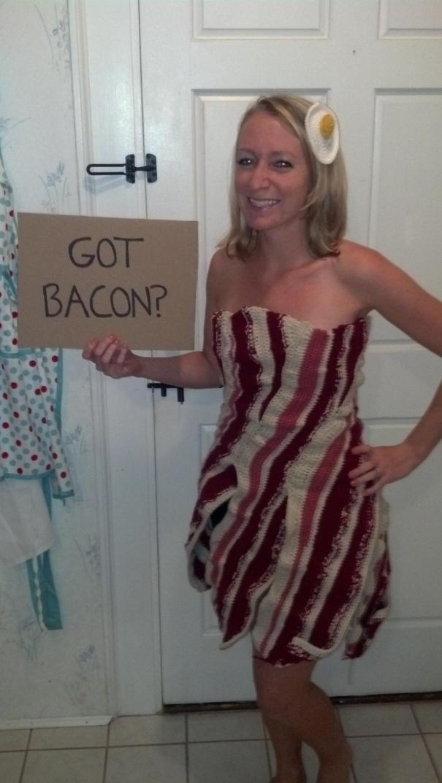 Crocheted Bacon Dress