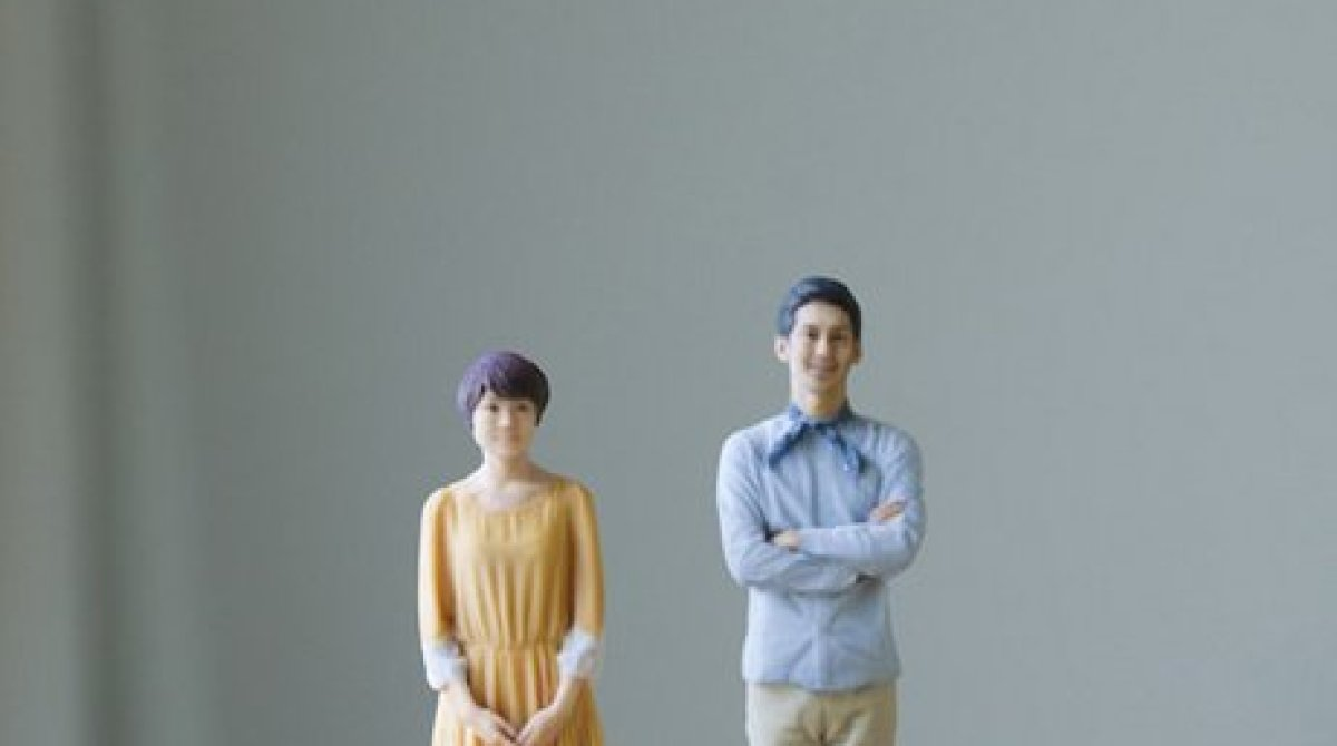 World's First 3D Printing Photo Booth