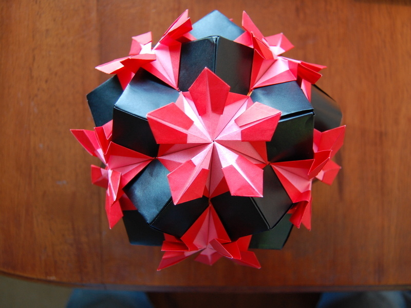 Make a Kusudama Origami Ball